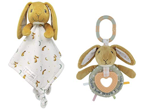 Guess How Much I Love You, Nut Brown Hare Snuggle Blanky and Teether Activity ()