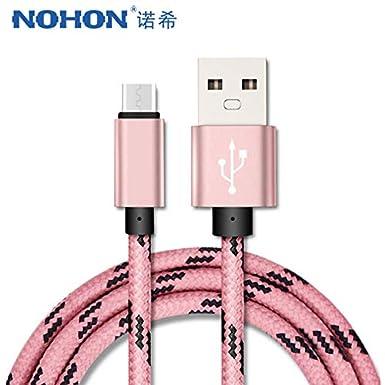 Amazon.com: Keu_20-1 - Cable de carga micro USB para Samsung ...