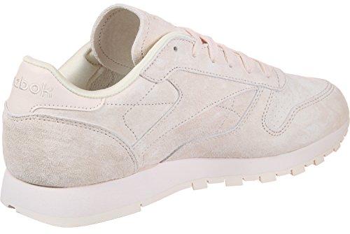Reebok Cl Leather Nbk W Schuhe Pink (rosa Pallido / Rosa Gesso 000)