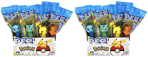 Pez Pokemon Dispensers Individually Wrapped Candy and Dispensers with Tru Inertia Kazoo (24 Pack)