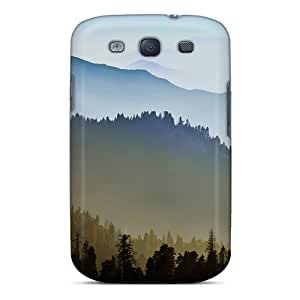 Protective Tpu Case With Fashion Design For Galaxy S3 (os X Mavericks Scenery)