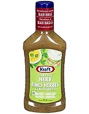 Kraft Classic Herb Dressing, 475mL (Pack of 10)