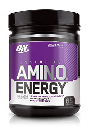 Optimum Nutrition Amino Energy with Green Tea and Green Coffee Extract, Flavor: Concord Grape, 65 (City Of Concord California)