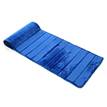 My First Memory Foam Nap Mat with Removable Pillow, Blue