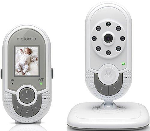 Motorola MBP621 – Vigilabebés vídeo con pantalla a color de 1.8″, color blanco