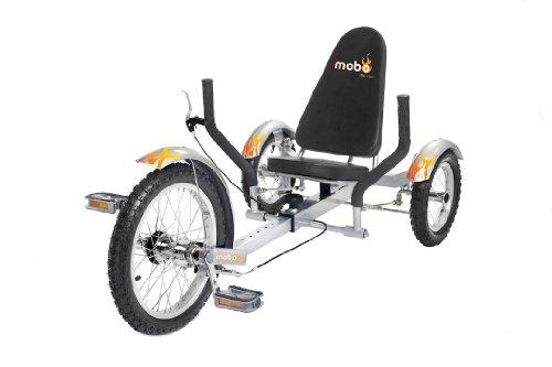 "Mobo Triton (Silver) The Ultimate 3 wheeled Cruiser (16"") �"
