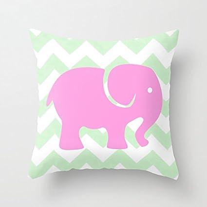 Amazon Pink Elephant Throw Pillow Covers 40 X 40 Decorative Inspiration Decorative Pillows For Teen Girls