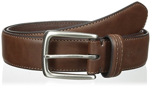 Columbia Men's Trinity 35mm Feather Edge Belt, Brown, 36 (Brown Feather Edge)