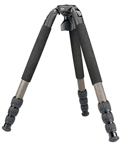 Sirui SR-3204 SR-Series Multi Use Carbon Fiber 4-Section Platform Tripod Legs Set, Max Load 55lbs (Includes Sirui USA 6-Year Warranty)