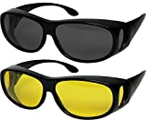 Fit Over Sunglasses Polarized Lens Wear