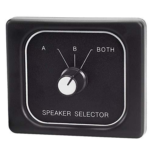 Magnadyne C45-3800A: 3 Position Speaker Selector Switch for RV or ()