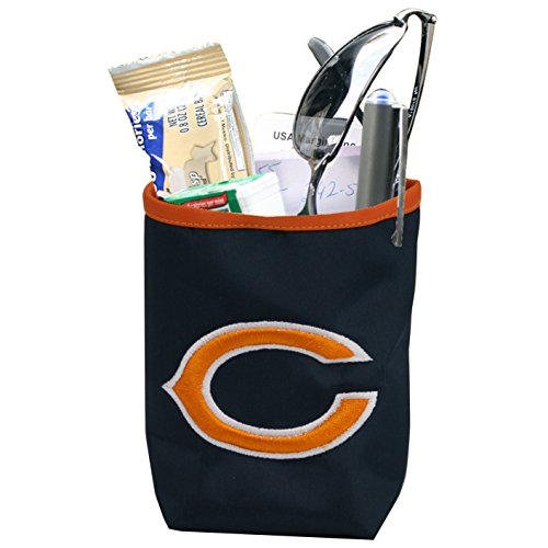 NFL Chicago Bears Logo Car Pocket Organizer - Hangs from Car Vent