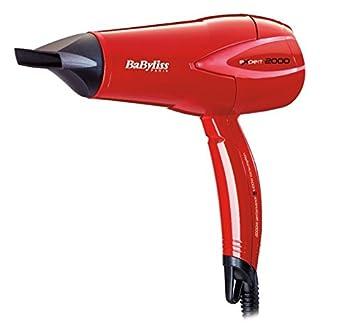 BaByliss Expert 2000 - Secador, color rojo: Amazon.es: Salud y cuidado personal