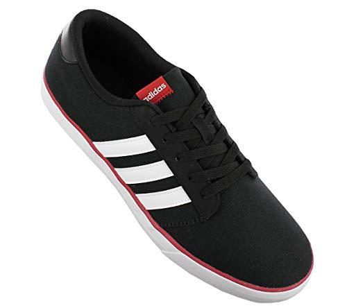 Skaterschuhe Canvas Sportschuhe Schwarz Skate Schuhe Sneaker adidas VS Schwarz Turnschuhe Herren wX01nqa