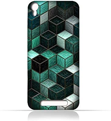 finest selection 3ecb3 ddfc9 AMC Design Lava Iris 820 TPU Silicone Case With Cubes Pattern ...