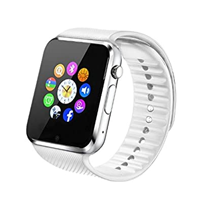 Fantime Sw-08 All in One Bluetooth Smart Watch Phone, Wrist Watch Phone with SIM Card for Android, Apple Iphone 5s/6/6s and Other Smart Phones