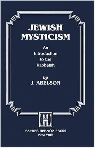 an introduction to jewsih mysticism Encuentra the mystic quest: an introduction to jewish mysticism de david s ariel (isbn: 9780876689288) en amazon envíos gratis a partir de 19€.
