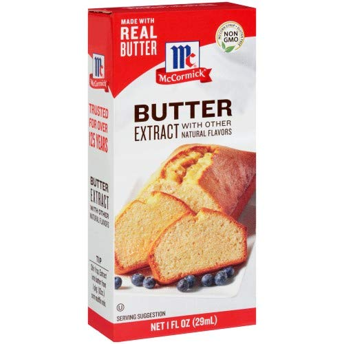 McCormick Butter Extract with Other Natural Flavors, 1 Fl Oz (Pack of 2)