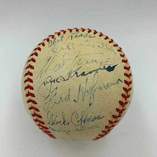 - Rare 1940 St. Louis Browns Team Signed Official American League Baseball - Autographed Baseballs