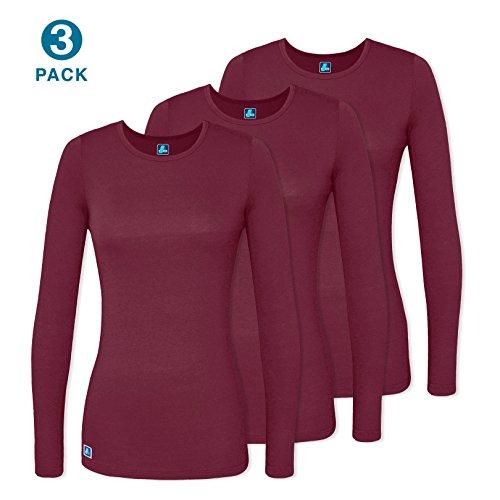 Adar Uniforms Women's Comfort Long Sleeve T-Shirt/Underscrub