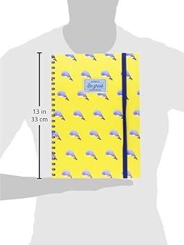 Bindungen a4nots00/Notizbuch mit Spiralbindung A4 Gl/ück A4