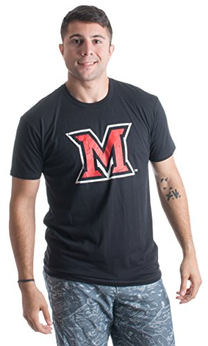 Miami University | Miami of Ohio RedHawks Vintage Style Unisex T-shirt