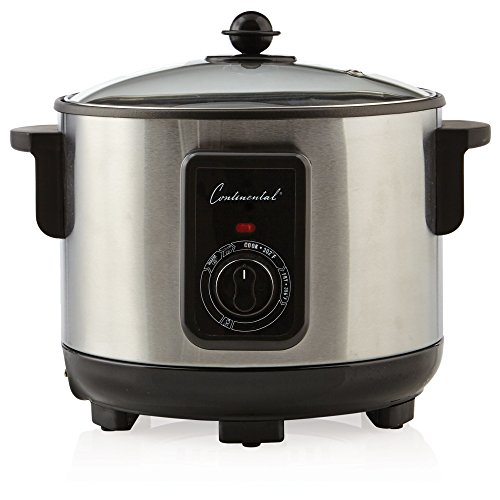 Continental Electric Appliances - Continental Electric CP43279 5.5 Liter Deep Fryer Stainless Steel
