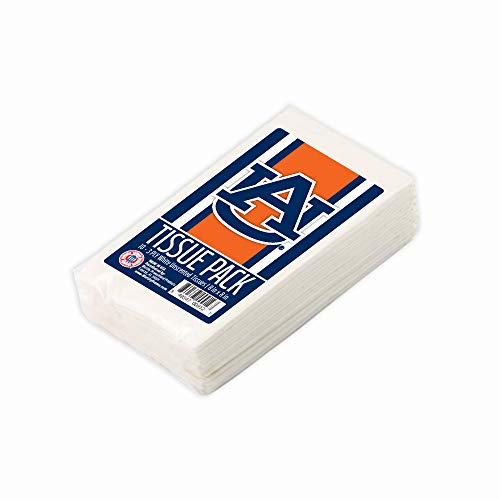 Auburn Paper - Worthy Promo NCAA Auburn Tigers Party Favors & Party Supplies Tissue Packs 10-Pack