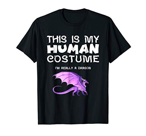 This Is My Human Costume I'm Really a Dragon T Shirt ()