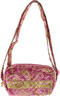 product image for Stephanie Dawn Small Carry All - Kiwi Blush New Quilted Handbag USA 10015-004