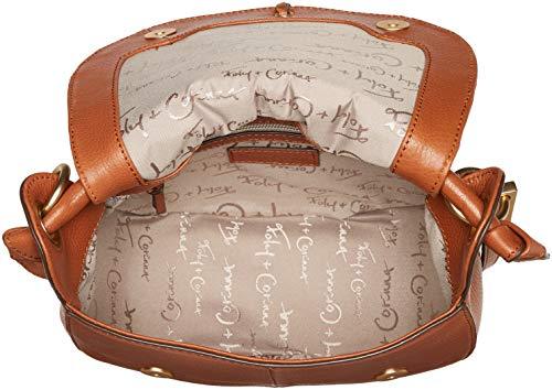 Honey Lilli Corinna Bag Saddle Foley Brown WCIq5qp