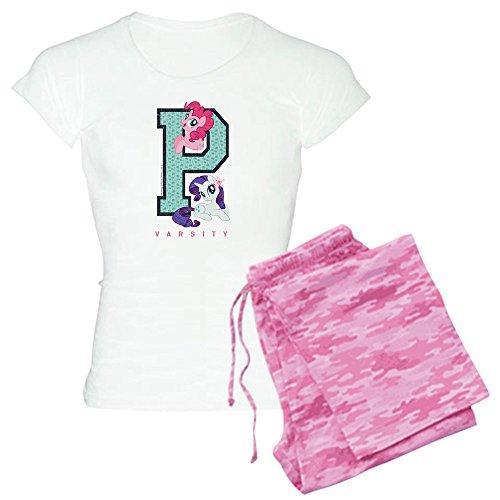 CafePress My Little Pony Varsity Womens Novelty Cotton Pajama Set, Comfortable PJ Sleepwear]()