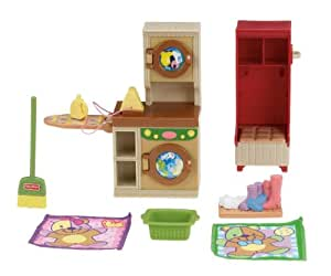Fisher price loving family laundry room toys games for Fisher price loving family living room