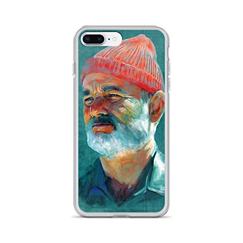 - iPhone 7 Plus/8 Plus Case Anti-Scratch Motion Picture Transparent Cases Cover A Tribute to Bill Murray Movies Video Film Crystal Clear
