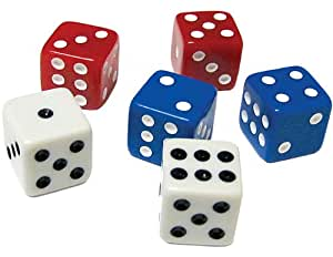 Dice, Pack of 18