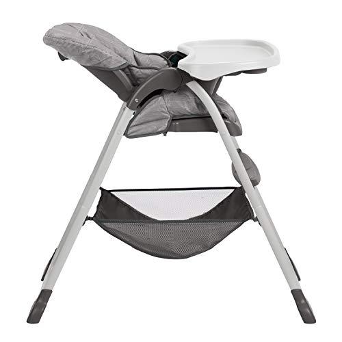 41civmF1XFL - Graco Slim Snacker High Chair | Ultra Compact High Chair, Whisk