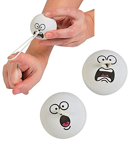 "Price comparison product image 2"" Snowball Funny Face Missiles (12 Pieces) Foam"