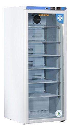 am-1 AM-VAC-1D-RGP-10 Vaccine Premium Glass Door 10.5 cu. ft. Refrigerator, White