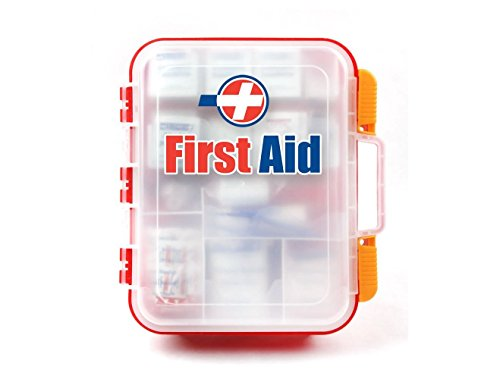 Rapid Care First Aid 82334 334 Piece ANSI/OSHA Compliant Emergency First Aid Kit, Wall Mountable,...