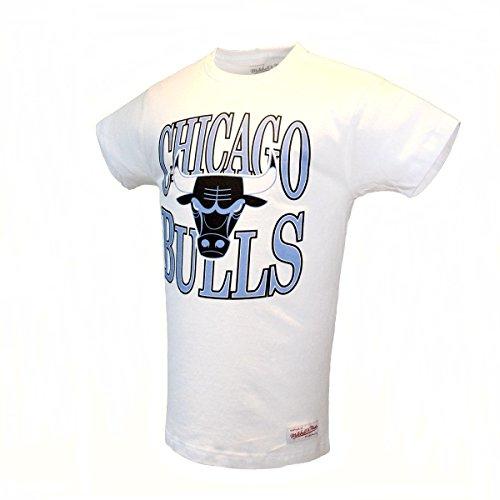Mitchell & Ness Team Logo Traditional Herren T-Shirt CHICAGO BULLS Gr. XXL