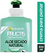 Garnier Fructis Crema para Peinar, Aloe Hidra Bomb, 300 ml