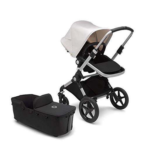 Bugaboo Lynx – Complete with Bassinet – The Lightest Full-Size Baby Stroller – All-Terrain Stroller with an Effortless…