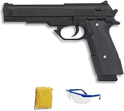 Gun Battle Ming Xing Pistola de Airsoft Calibre 6mm (Arma Aire Suave de Bolas de plástico o PVC). Sistema: Muelle. <3,5J