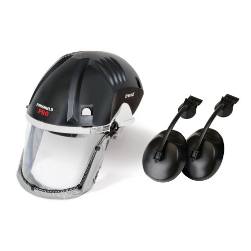Trend Deal/Q4/A Airshield Pro with Clip-On Ear Defenders by TREND