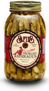 Safies Pickled Asparagus, Sexy Hot, 32 fl oz