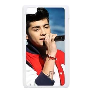 Zayn Malik funda iPod Touch 4 caja funda del teléfono celular blanco cubierta de la caja funda EEECBCAAJ07971