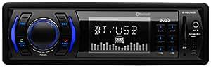 BOSS Audio 616UAB Single Din, Bluetooth, MP3/USB/SD AM/FM Car Stereo, Wireless Remote
