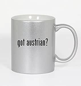 got austrian? - 11oz Silver Coffee Mug