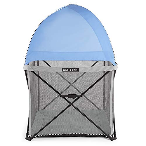 Summer Infant Pop 'n Play SE Cube Playard (Sweetlife Edition), Blue Raspberry, 4-Sided by Summer Infant (Image #4)