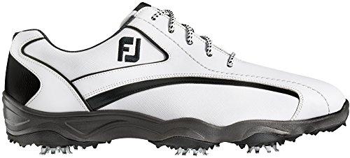 FootJoy 2016 Men's SuperLites Sport Speed Saddle Golf Shoes, Previous Season Styles (11 2E US, White/Black)